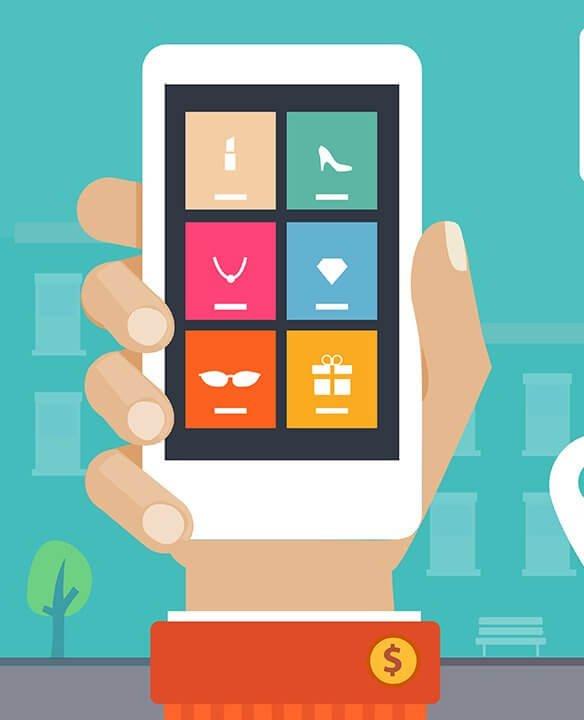 Mobile web design page